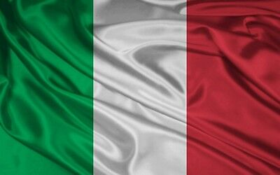 5ft x 3ft LARGE POLYESTER ITALY ITALIAN NATIONAL FLAG ALL WEATHER EYELETS ITALIA