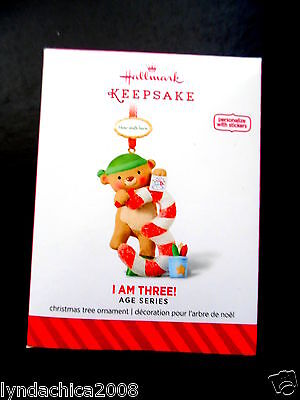 2014 Hallmark Keepsake Ornament I AM THREE ***BRAND NEW***
