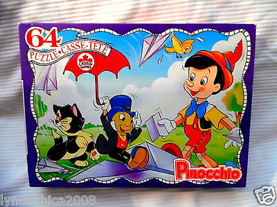 PINOCCHIO PUZZLE By Canada Games (64 PIECES)