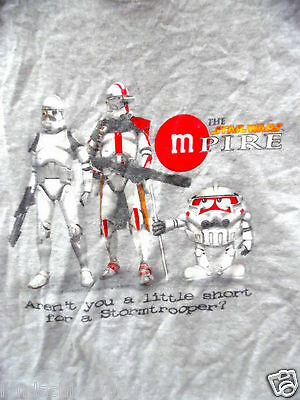 Star Wars & MnM's Star Wars MPire Shirt (Size EXTRA LARGE) ***Licensed Merch***