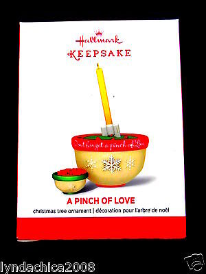 2014 Hallmark Keepsake Ornament A PINCH OF LOVE ***BRAND NEW***