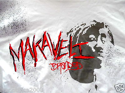VINTAGE 90's TUPAC SHAKUR Shirt (Size XXL) Licensed By Makaveli Clothing