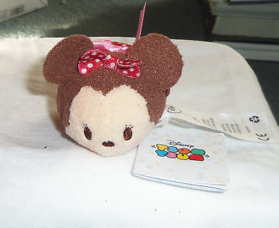 """Disney Tsum Tsum MINNIE MOUSE Valentine's Day Edition  3.5"""" New with Tags!"""