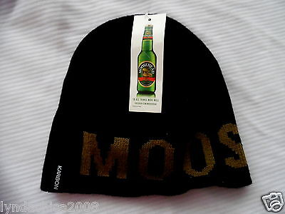Moosehead Beer Promotional Toque Hat TAGS ATTACHED