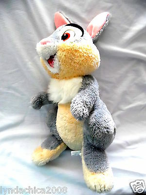 HUGE Disney Store Exclusive THUMPER Plush Toy from Bambi (20 INCHES)