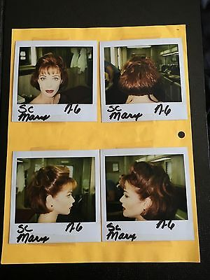 4 Dumb & Dumber Polaroid Lauren Holly Wardrobe Photos Script Page Schedule and