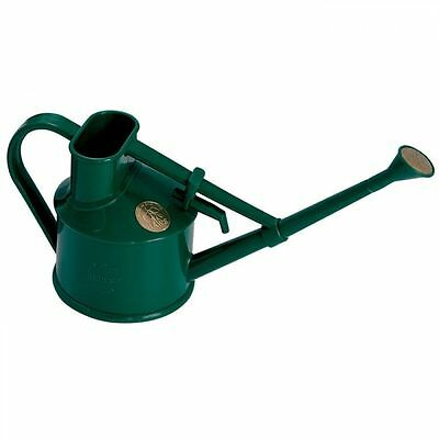 Haws Green Plastic Handy Indoor Watering Can with Rose Attachment 0.7 Litre