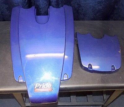 Pride Mobility Jazzy Select 6 Blue Plastic Body Shroud Cover DWR1234L812
