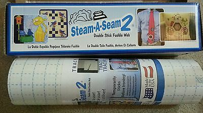 "Warm Company, STEAM-A-SEAM 2 ~ FUSIBLE WEB ~ 24"" X 2 YARDS #5524"