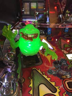 Ghostbusters Pinball Machine Green Adjustable Slimer w/Hotdogs LED mod Stern