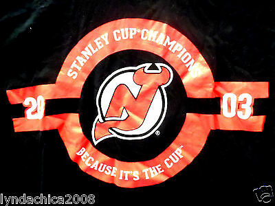 NHL NEW JERSEY DEVILS Shirt Licensed By NHL & Coors Light (Size L)