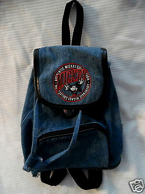MICKEY MOUSE Embroidered Authentic Collection Napsac Backpack