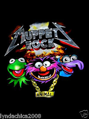Muppets ROCK (Size SMALL) Licensed Merchandise