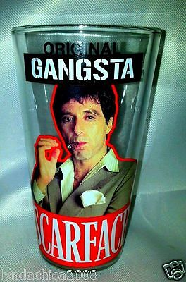 SCARFACE Original Gangsta O.G Collectible Glass ***BRAND NEW IN BOX***