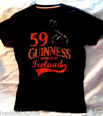 GUINESS Promo Shirt (Size SMALL) Brewed in Ireland!