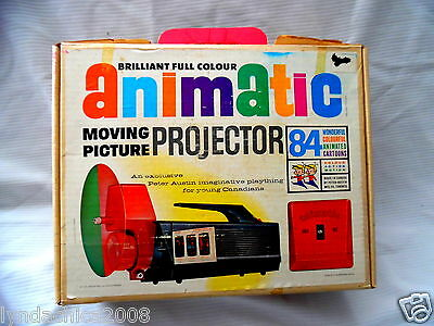 Vintage Animatic Moving Pictures Projector By Peter Austin 1964 EXTREMELY RARE