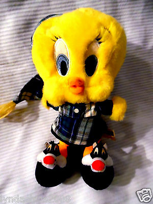 TWEETY BIRD Plush Toy Looney Tunes By Warner Bros. Studios (9 INCHES)
