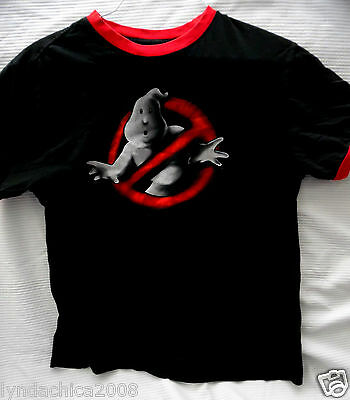 THE GHOSTBUSTERS Shirt (Size L) ***Officially Licensed***