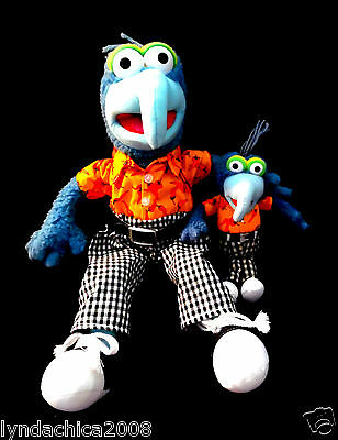 Pair of Matching GONZO PLUSH TOYS By Sababa Toys!