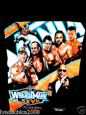 WRESTLEMANIA XXVII Shirt (Size SMALL)