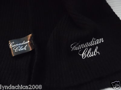 CANADIAN CLUB Promotional Scarf (77 INCHES) ***Licensed Merchandise***