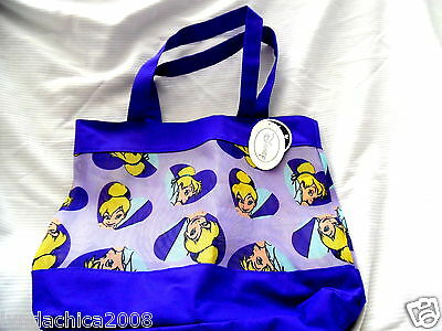 Disney TINKER BELL Large Beach Bag Tote Bag