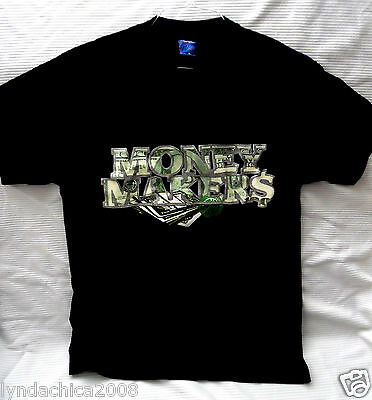 VINTAGE 90's RUFF RYDER'S Money Makers Shirt (Size LARGE)