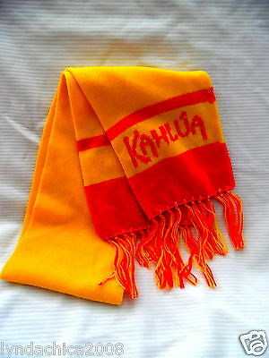 KAHLUA Promotional Scarf (65 INCHES) ***Licensed Merchandise***
