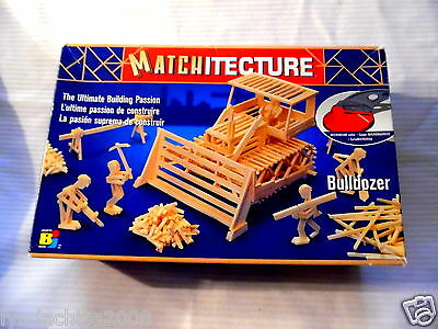 BULLDOZER Model Kit By Matchitecture SEALED & COMPLETE