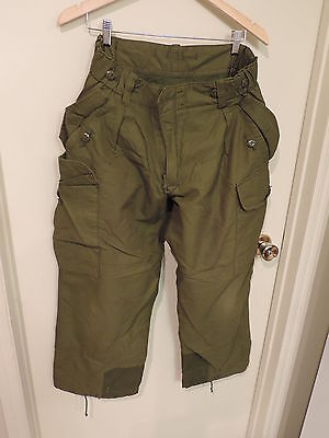 Canadian Forces Trousers Combat Pants Winter Cold Green 6734