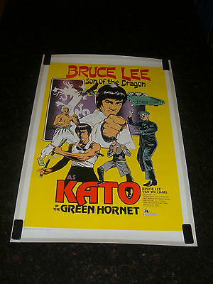 THE GREEN HORNET (KATO STYLE) Original Movie Poster, C8.5 Very Fine to Near Mint