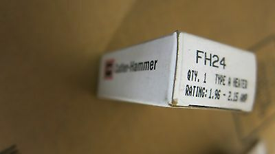 Cutler Hammer FH24 Thermal Overload Relay Heater Element- NEW