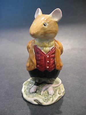 Royal Doulton Lord Woodmouse Figurine Brambly Hedge Gift Collection D. BH. 4