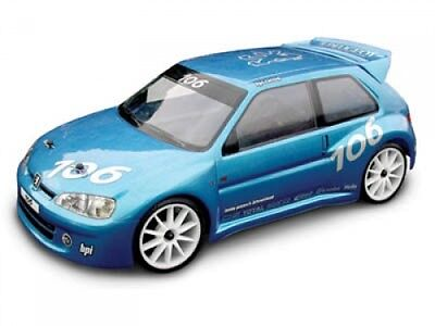 HPI Peugeot 106 Gti Body (190mm) - Unpainted - 7241