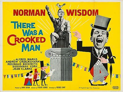 """There was a Crooked Man 16"""" x 12"""" Reproduction Movie Poster Photograph"""