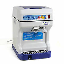 Ice Crusher Commercial Ice Shaver Snow Cone Shaved Ice Equipment Machine