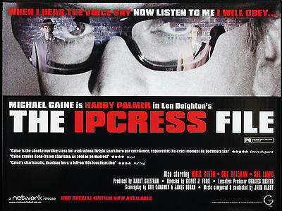 "The Ipcress File 1965 16"" x 12"" Reproduction Movie Poster Photograph"