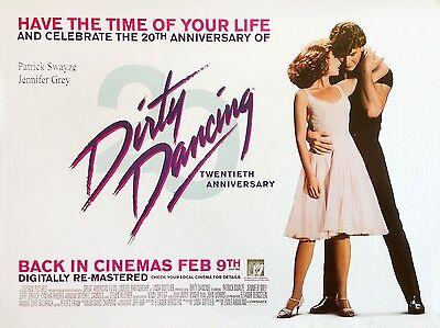 """Dirty Dancing 16"""" x 12"""" Reproduction Movie Poster Photograph"""