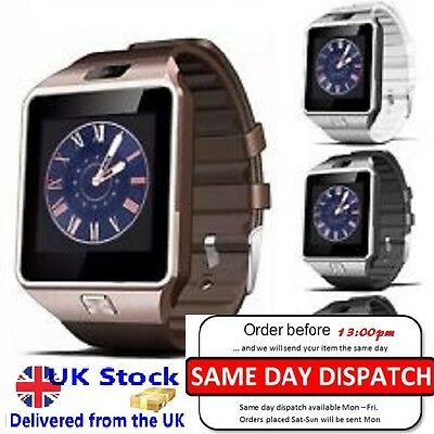 Bluetooth DZ09 Smart Watch for Android Phone Samsung iPhone HTC