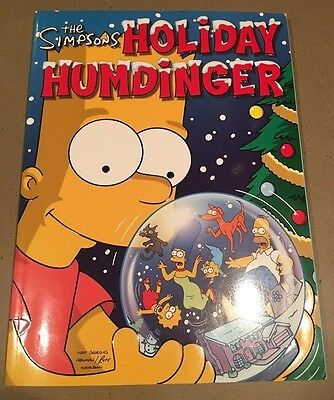 NEW The SIMPSONS Holiday Humdinger Groening Collectible 1st Edition!