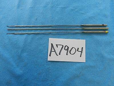 Storz Surgical 14-1/4in (36.2cm) Rasp Curette & Probe Lot Of 3