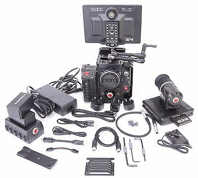 "Red Epic X Dragon 6K Camera Kit 1.2 Hours 7"" Touch Bomb Redmote Evf Free Ship"