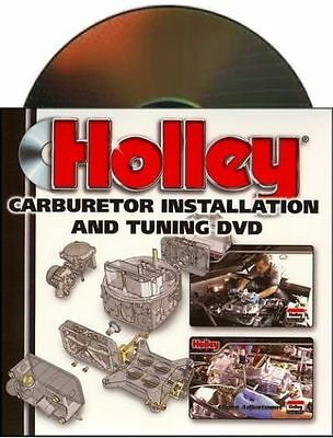 Holley Carburetor 36-378 Installation and Tuning DVD