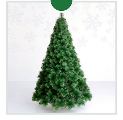 * Xmas Christmas Celebrate Gift Height 2.4m Green Christmas Tree Decoration