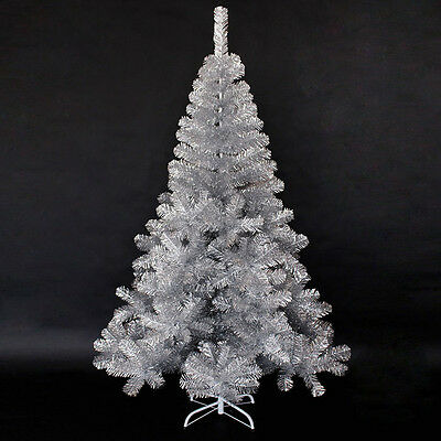 * Xmas Christmas Celebrate Gift Height 2.1m Silver Christmas Tree Decoration