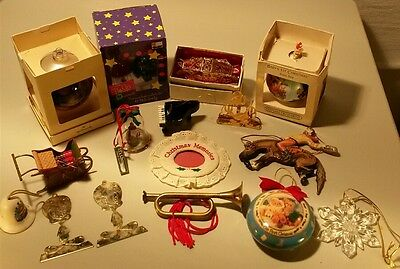 Christmas ornaments lot of 16