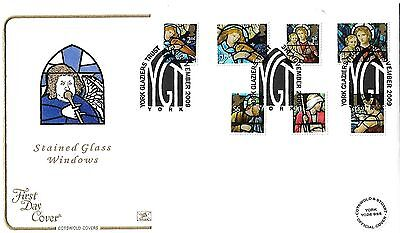 Gb 2009 Christmas Set On Cotswold Official Fdc