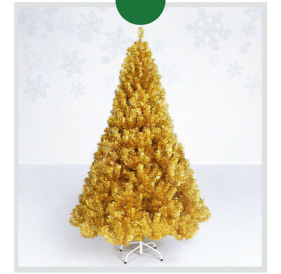 * A-12 Xmas Christmas Celebrate Gift Height 1.5m Gold Christmas Tree Decoration