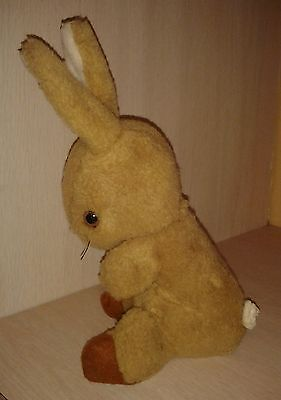 Vintage Rare HTF Musical Eden Bunny Rabbit Key Wind 11""