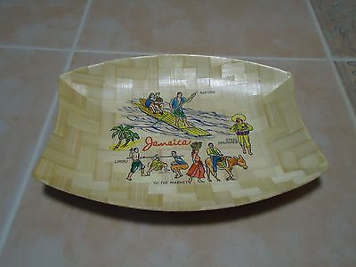 Vintage tray from Jamaica